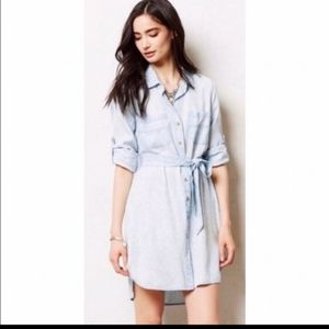 Cloth and Stone Chambray Shirt Dress